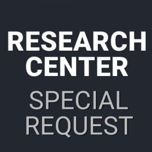 Research Center Special Request