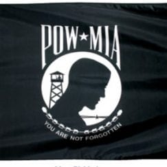 3x5 Foot POW-MIA Outdoor Nylon Flag