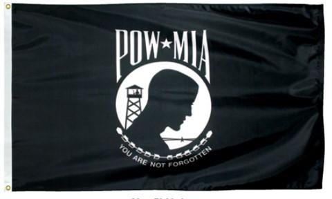 3x5 Foot POW-MIA Outdoor Nylon Flag
