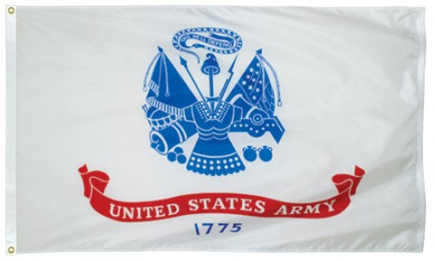 3x5 Foot U.S. Army Outdoor Nylon Flag