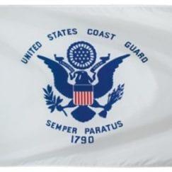 3x5 Foot U.S. Coast Guard Outdoor Nylon Flag