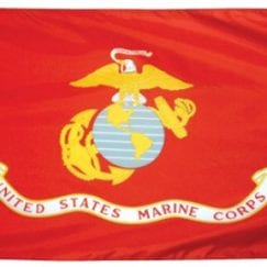 3x5 Foot U.S. Marine Corps Outdoor Nylon Flag