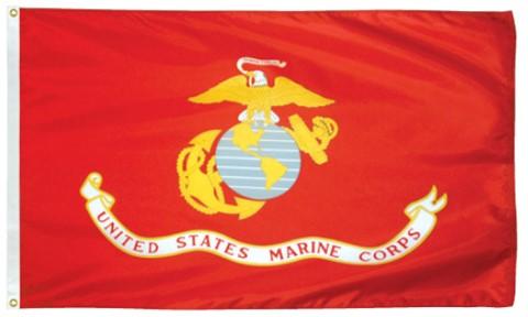 3x5 Foot U.S. Marine Corps Outdoor Nylon Flag