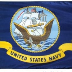 3x5 Foot U.S. Navy Outdoor Nylon Flag