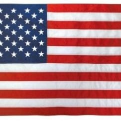 3x5 Foot U.S. Outdoor Nylon Flag