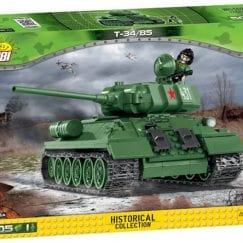 Front of COBI T-34 product box