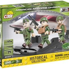 Front of COBI 2033 American Airborne Division figures's box