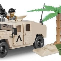 Picture of COBI NATO Armored All-Terrain Vehicle set built
