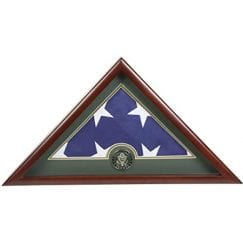 Burial Flag Display Case - Army