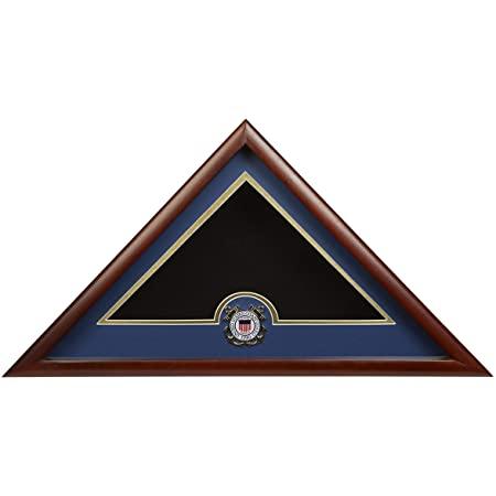 Burial Flag Display Case - USCG